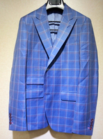 Stand collar suits for men,italian style formal suits for men