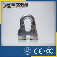 China Alibaba Trade Assurance Din741 Electrical Metal Wire Rope Clip