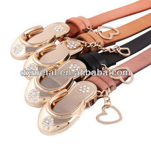 gold shoes ladies belt buckle