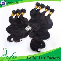 100%human hair ,factory price Virgin Body wave Brazilian Hair Bundles
