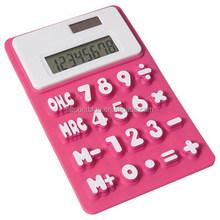 High quality silicone calculator /digital calculator