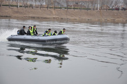 Liya 3.8m-6.5m cheap inflatable boat pvc used rescue boat for sale