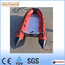 (CE) 4.3m inflatable boat with aluminum floor for sale