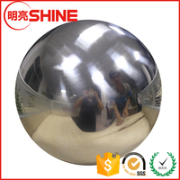 150mm 250mm 300mm Mirror Surface Stainless Metal Sphere Welded Ball Soldered Brushed Steel Hollow Ball 1000mm