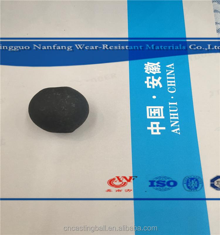 25 мм литья меля мяч с сертификатом ISO