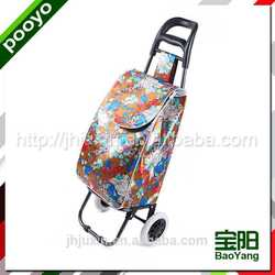 portable trolley bag with wheels wine cooler bag