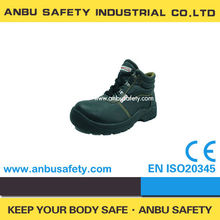 new arrival fashion nubuck leather anti-acid safety shoes 2012 hot
