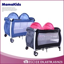 safety plastic cheap baby playpens factory,portabel baby travel bed ,baby portable travel crib