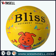 New arrival training custom wholesale mini basketball