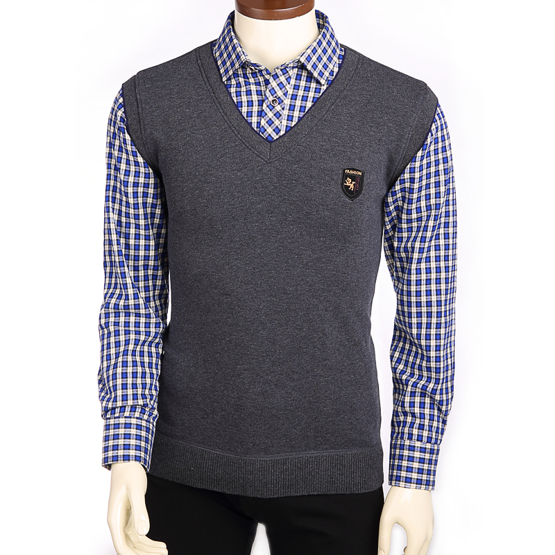 2015 lastest design formal shirt for men with low price