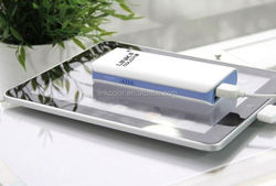 6000mah dual usb output external For Legoo power bank for iphone 4 4s,for ipad,mobile phone,pda,mp3/mp4,psp/nds