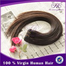 Continuous used thick human hair