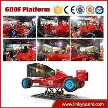 2015 F1 racing car simulator, electric rc drift car race simulator, video game