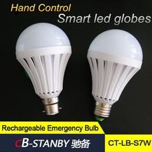 2015 hotsale high brightness emergency function rechargeable lantern cool white E27