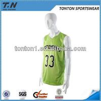 2015 cheap custom design basketball uniform