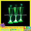 party plastic 230ml light up champagne glasses