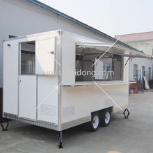 Cheap Mobile Food Carts fast food carts for sale food caravan