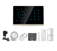 home automation panel !APP Control ! RFID Touch Keypad smart gsm SMS home security alarm system with alarm control keypad