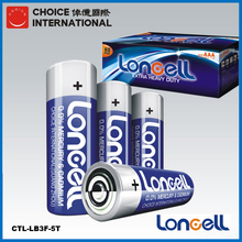 LONCELL Brand aa r6 1.5v um3 heavy duty battery