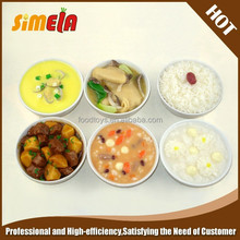 Simela pvc artificial Chinese fake food model