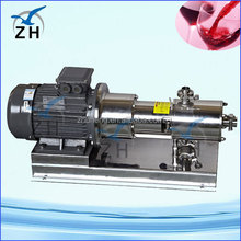 emulsifying mixer for toothpaste bitumen pump intermittent dispersing emulsifier