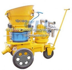 With accurate and reliable nature top swimming pool shotcrete machine