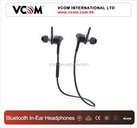 VCOM 2015 In Ear Earphone Wireless Hidden Invisible Bluetooth Earphone Fashion from Factory Price