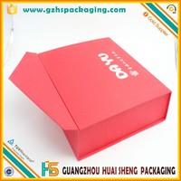 Luxury Plain Gift Keepsake Cardboard Colored Large Magnetic Lid Storage Box Wholesale In China