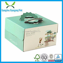 color print handheld fruits packing box wholesale