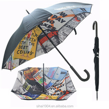 2015 new style full print bloomberg square umbrella