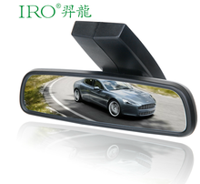 Factory Direct supply 3 inch 150 degree car dvr unique car rearview mirror dvr with electronic dog