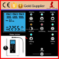 Multi-functional counter top Water Ionizer cheap alkaline water machine, alkaline water ionizer purifier