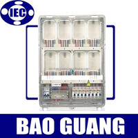 three phase outdoor plastic electric meter box