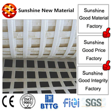 JDPET 240-240KN high strength polyester ceiling supporting mesh used in mine grid