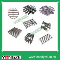 Customized rare earth NdFeB magnet grid for remove small metal