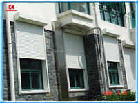 Australia standard automatic vertical aluminum security shutters for house