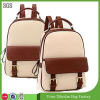 Women's Fashion Faux Leather School Backpack Girl Travel Shoulder Satchel Bags