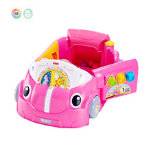 Kids Laugh And Learn Platic Pink Cral Aound Car, Kids Games Toy Cars From Dongguan OEM/ODM Toy Factory