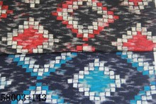 hot sale grid blue/navy printting fabric