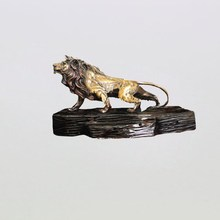 exquisite design bronze lion sculpture for sale from China