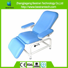 BT-DN008 hospital medical manual blood collection chair phlebotomy couch for sale