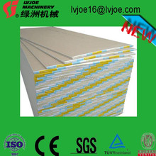 different sizes of gypsum board/plasterboard