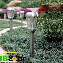 High quality glass stainless steel outdoor solar garden lighting IB-GL-050