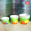 custom LOGO printed ice cream cup/cola disposable paper cup