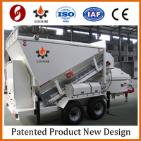 MB1200 mobile concrete batching plant for sale