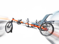 Aluminum alloy Recumbent Trike TB0017