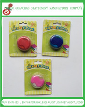 Promotion pencil sharpener with eraser , plastic sharpener