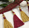 2015 new design handmade curtain tassel for curtain decoration ,curtain accessory