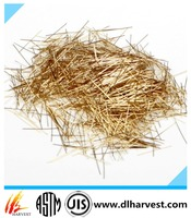 Best Quality Copper Coated Micro Steel Fiber For Concrete