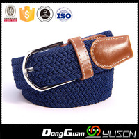 Factory 35MM Sport Outdoor Men Jeans Elastic Golf Braided Belt